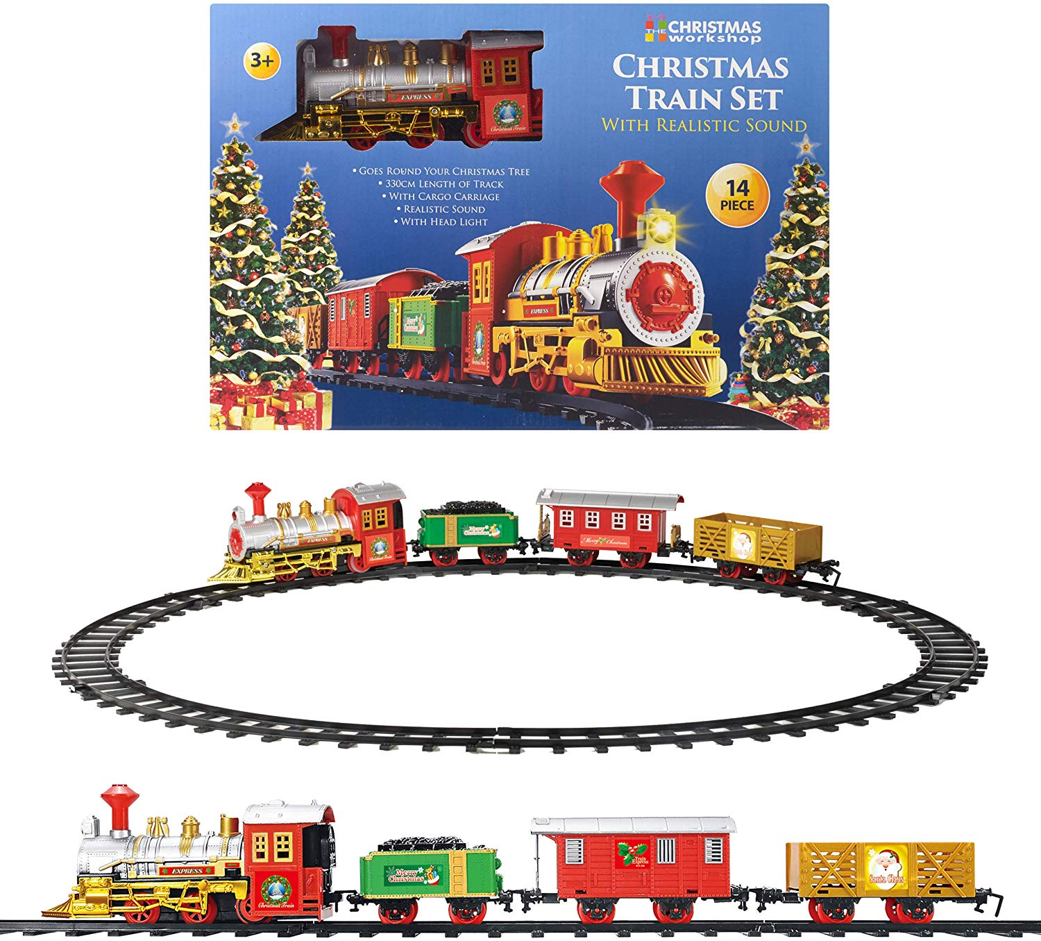 Christmas Workshop Xmas Train Set Kids Toys £11.99 + FREE delivery