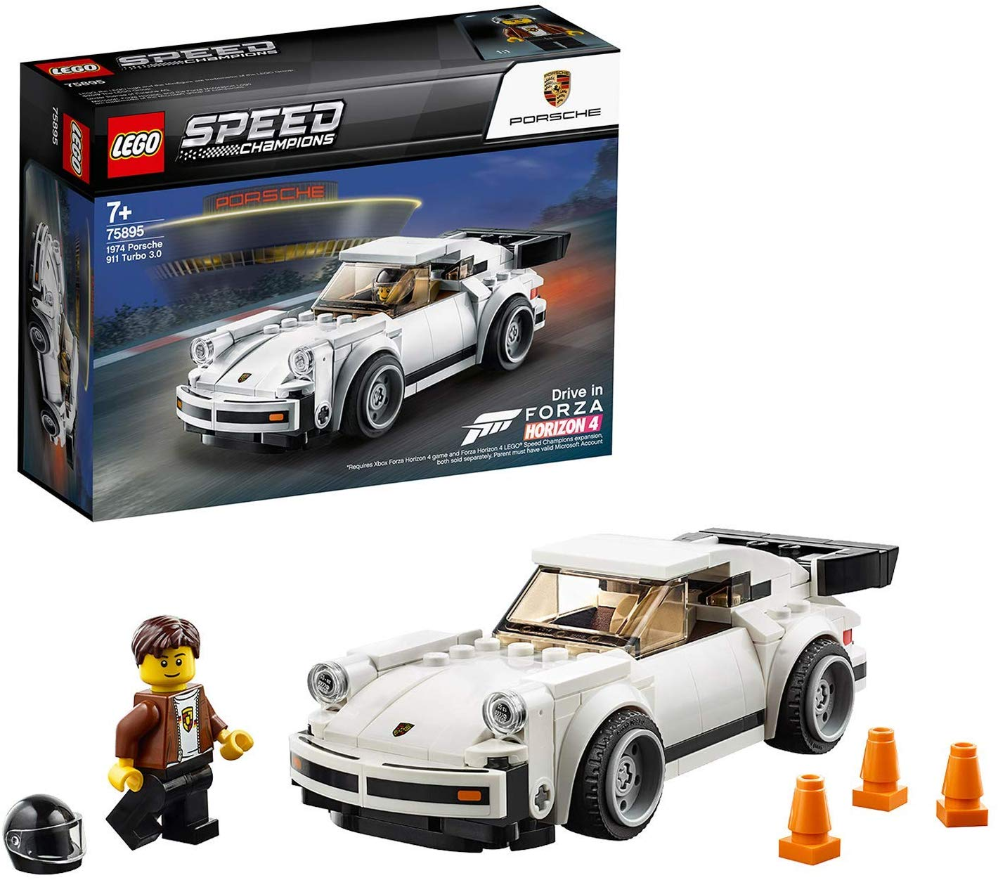 Save £3.89 LEGO Speed Champions Porsche 911 Turbo 3.0 Toy Car