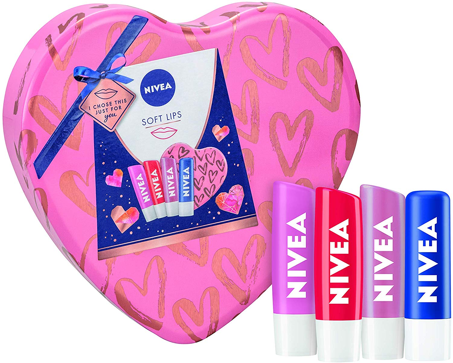 NIVEA Soft Lips Gift Set £4.33