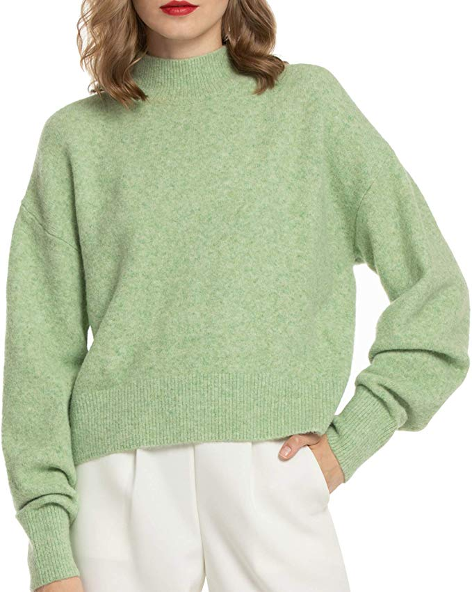 Half Price Woolen Bloom Cozy Sweater