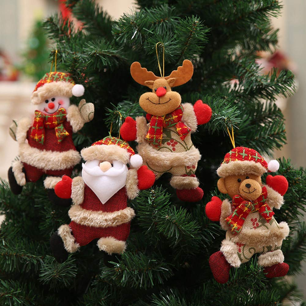 Christmas Decorations Sale, 4Pcs FREE delivery