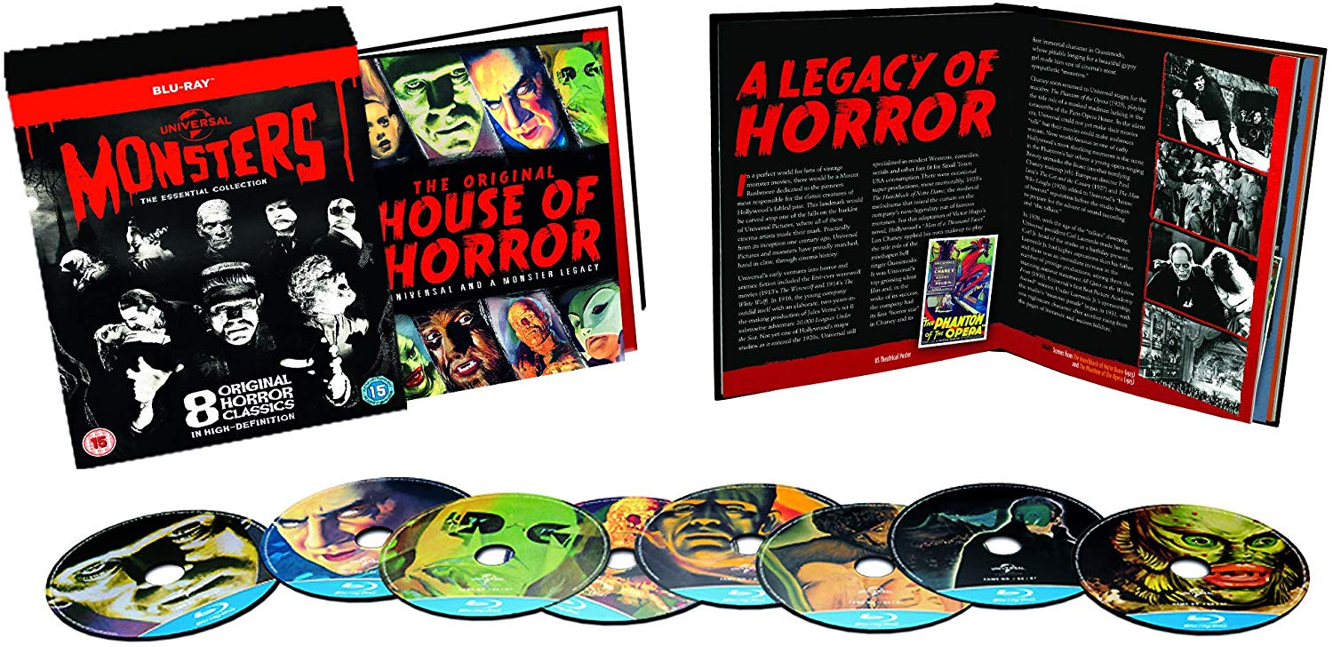 Universal Classic Monsters – The Essential Collection for £9.84 on Amazon