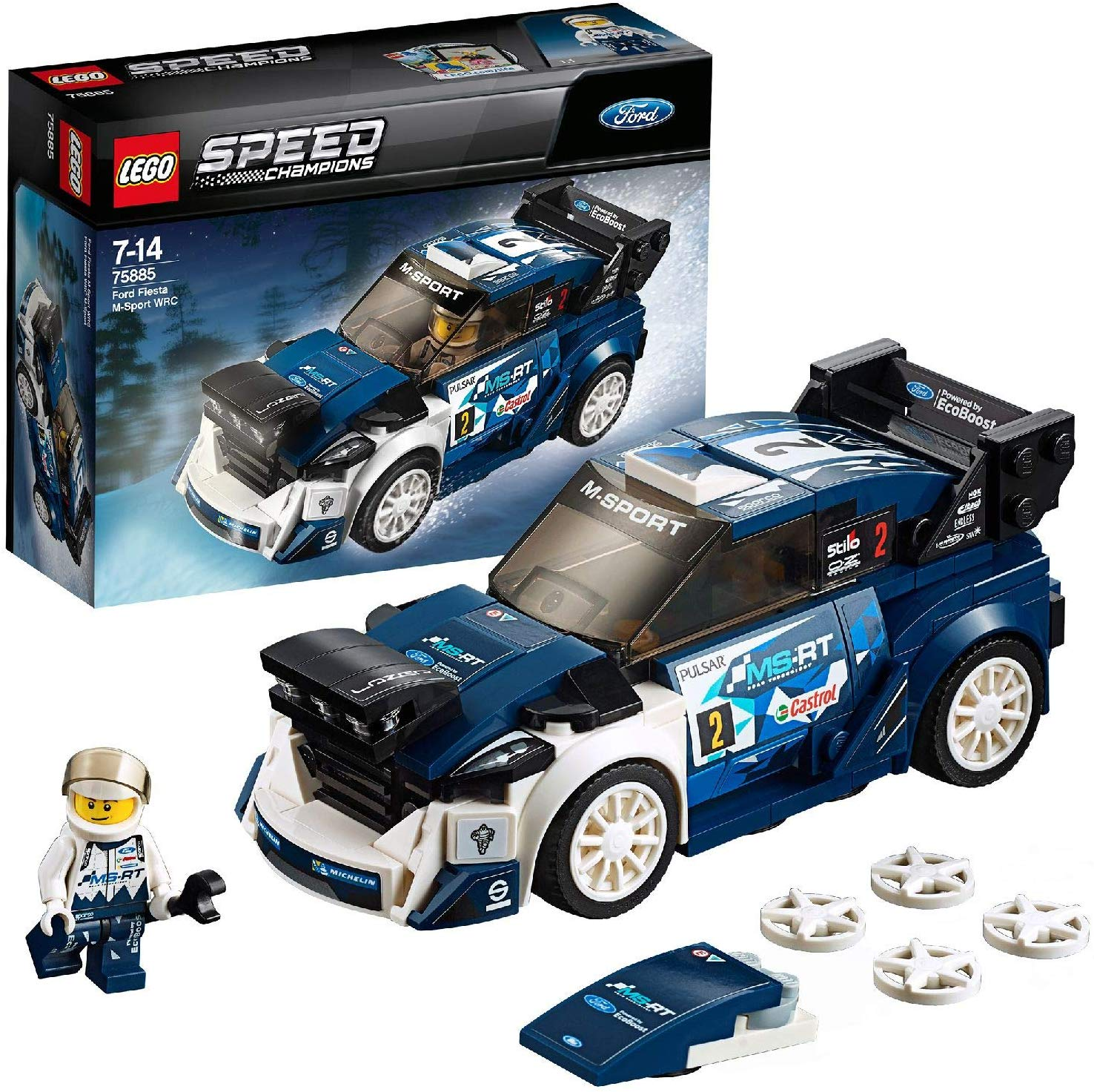 LEGO 75885 with Driver Minifigure Race Toy Car Now £7.98 on Amazon