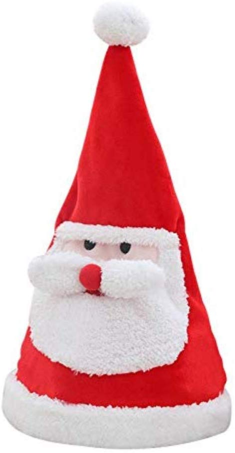 Christmas hats fun hats sing, dance, shine for parties Christmas or gift hats , Collect and send battery