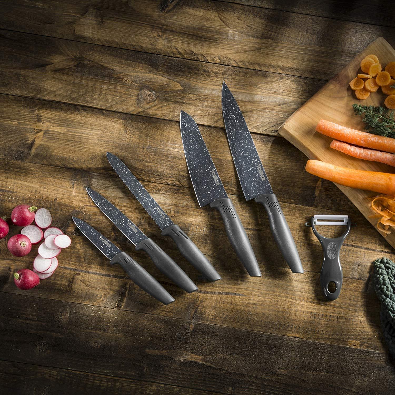 Tower Essentials Kitchen Knife Set, 6-Piece £10 Prime + £4.49 Non Prime