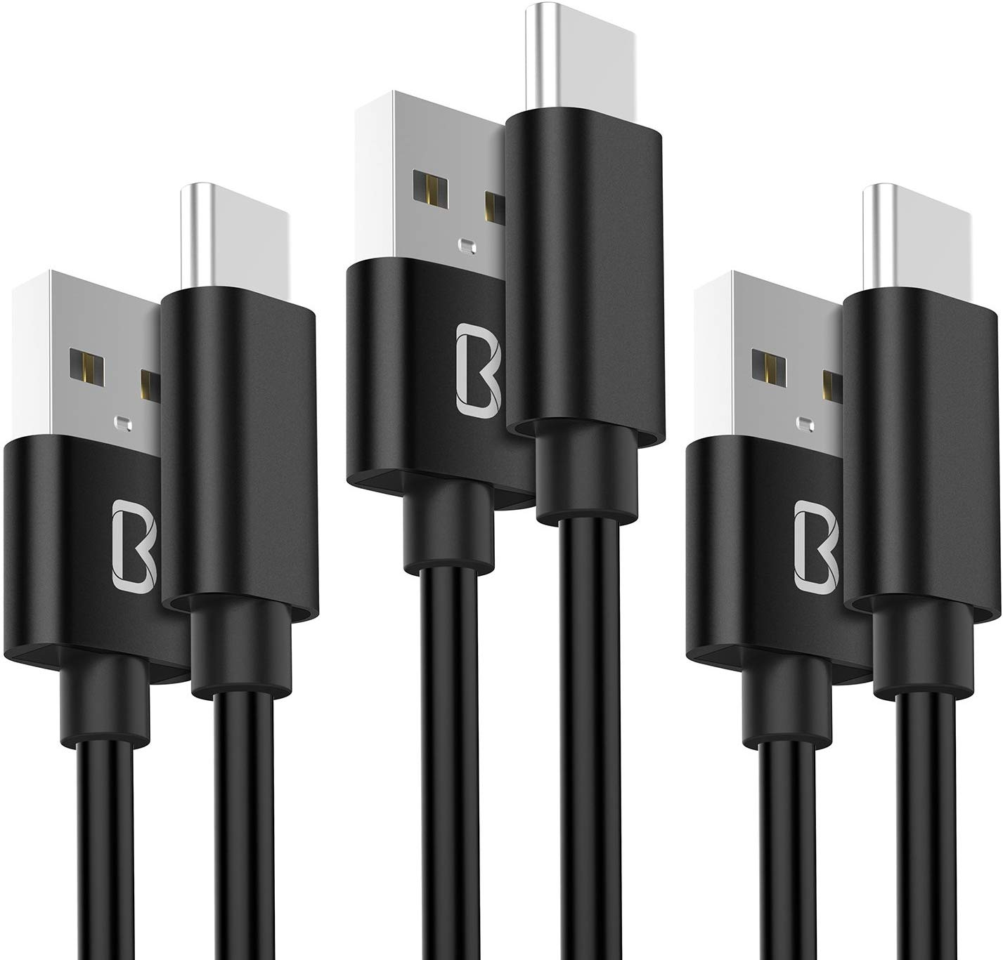 Beikell [3-Pack 3.3ft/1M] Type C cable USB-C Cable £3.99 Prime +£4.49 Non Prime
