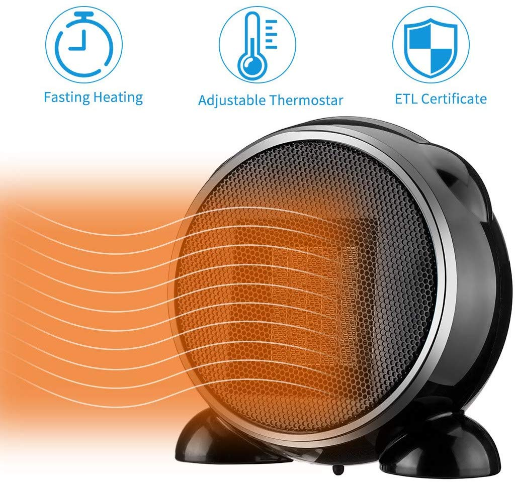 Portable Heater Home Use Ceramic Fan