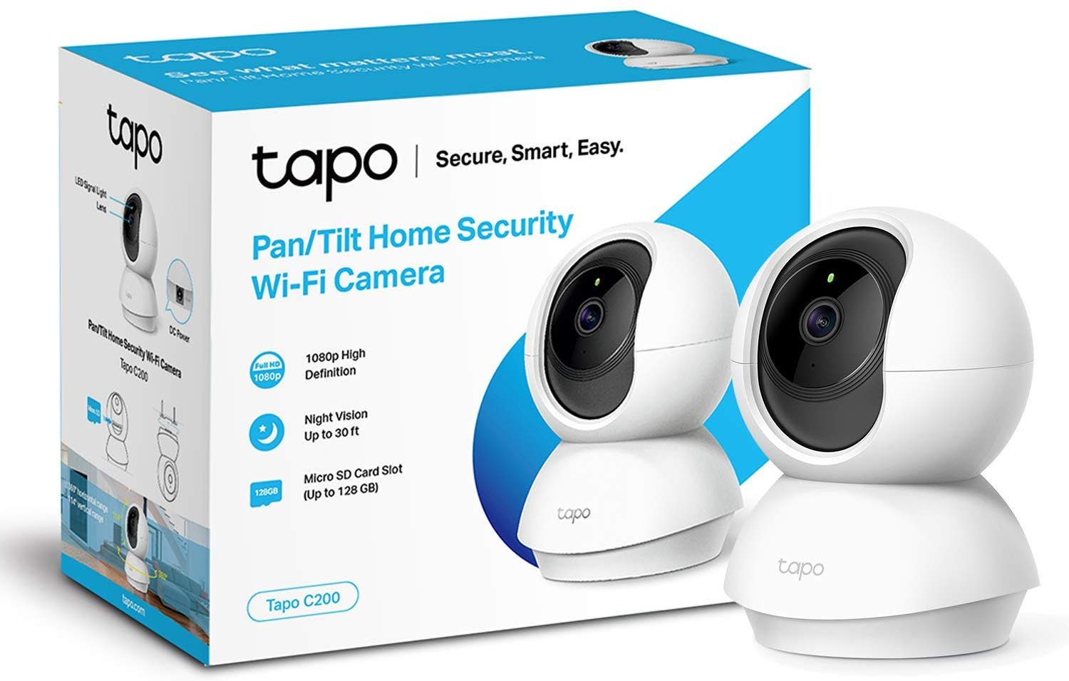 TP-Link Baby Monitor, Works with Alexa&Google Home Delivered on Amazon