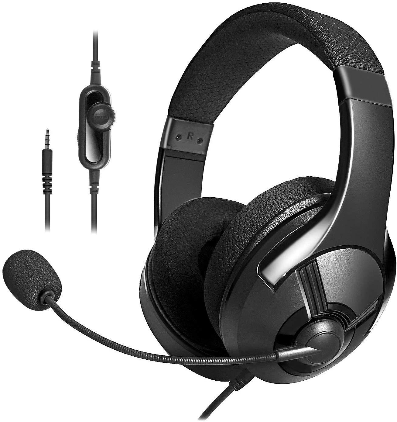 AmazonBasics Gaming Headset – Black Only £7.2 on Amazon