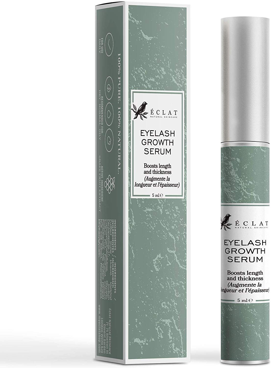 Eclat Eyelash Growth Serum – Eye Lash Growth Serum