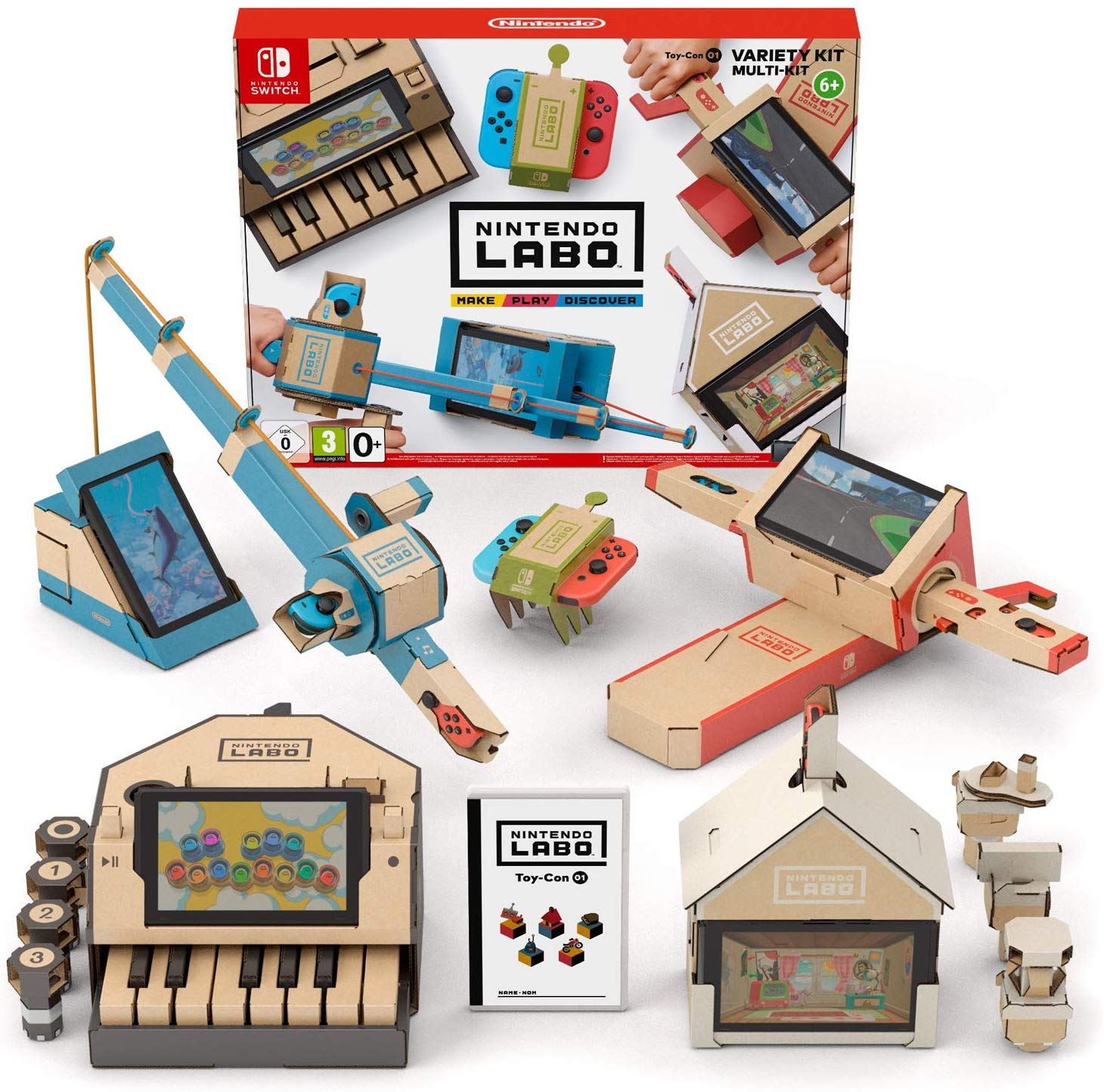 Nintendo Labo: Variety Kit Only £9.99 on Amazon