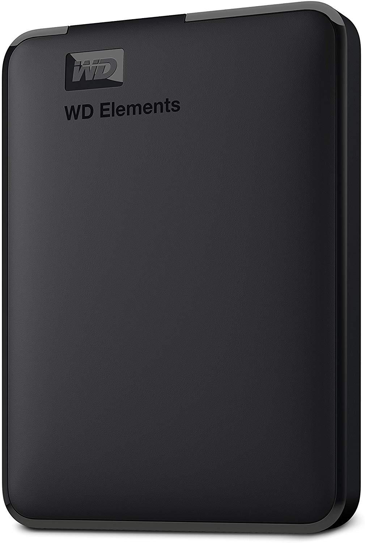 25% off WD 5TB Elements Portable External Hard Drive, USB 3.0