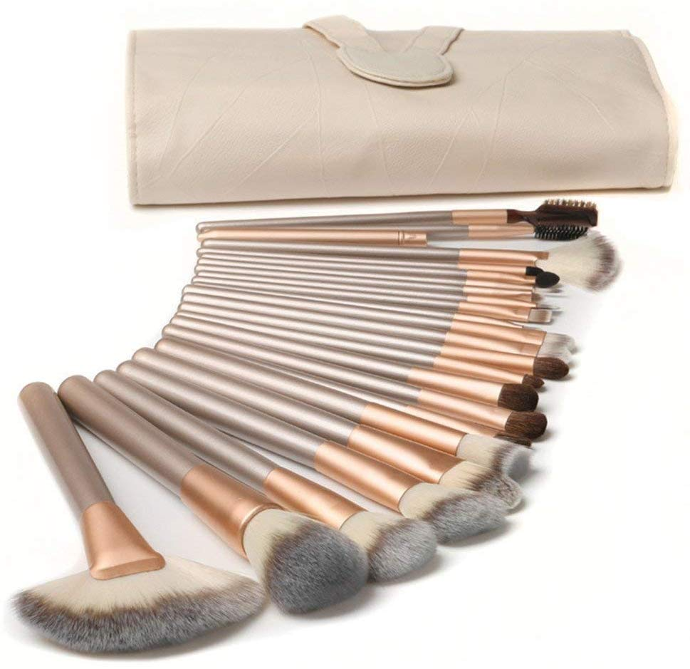 TTRWIN 18 Pcs Professional Makeup Brush Set Only £9.99  On Amazon