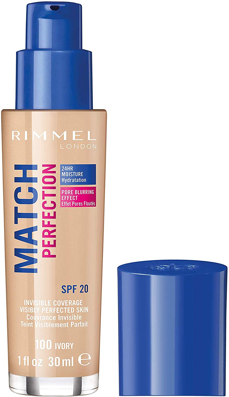 Rimmel London Match Perfection Liquid Foundation,30 ml Only £4.66 for Prime Member