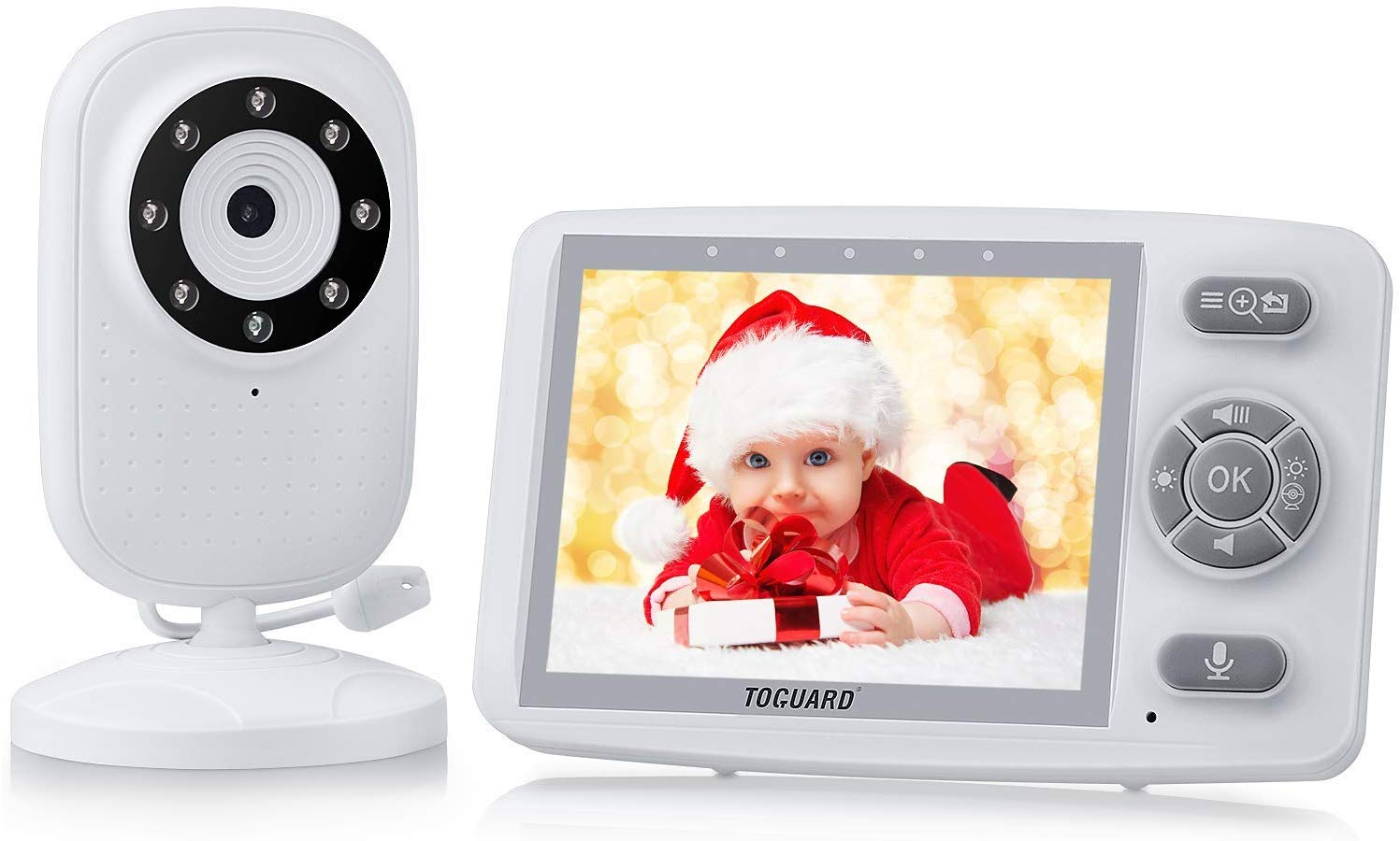 25% voucher on TOGUARD 3.5 Inch 2.4GHz Wireless Video Baby Monitor