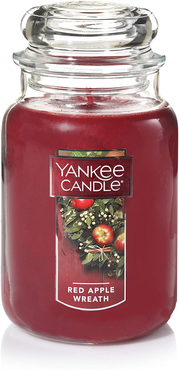 Yankee Candle Large Jar Candle, Red Apple only £9.4 on Amazon