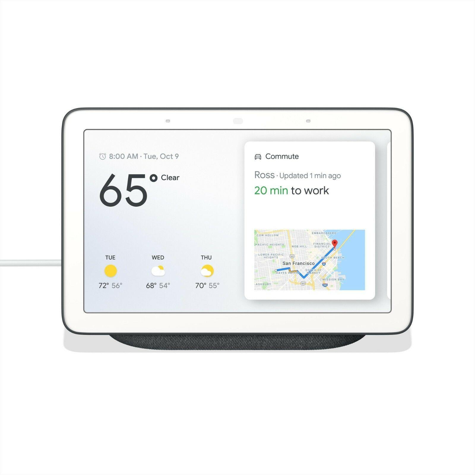 Google Home Hub – Charcoal for £49 on Ebay