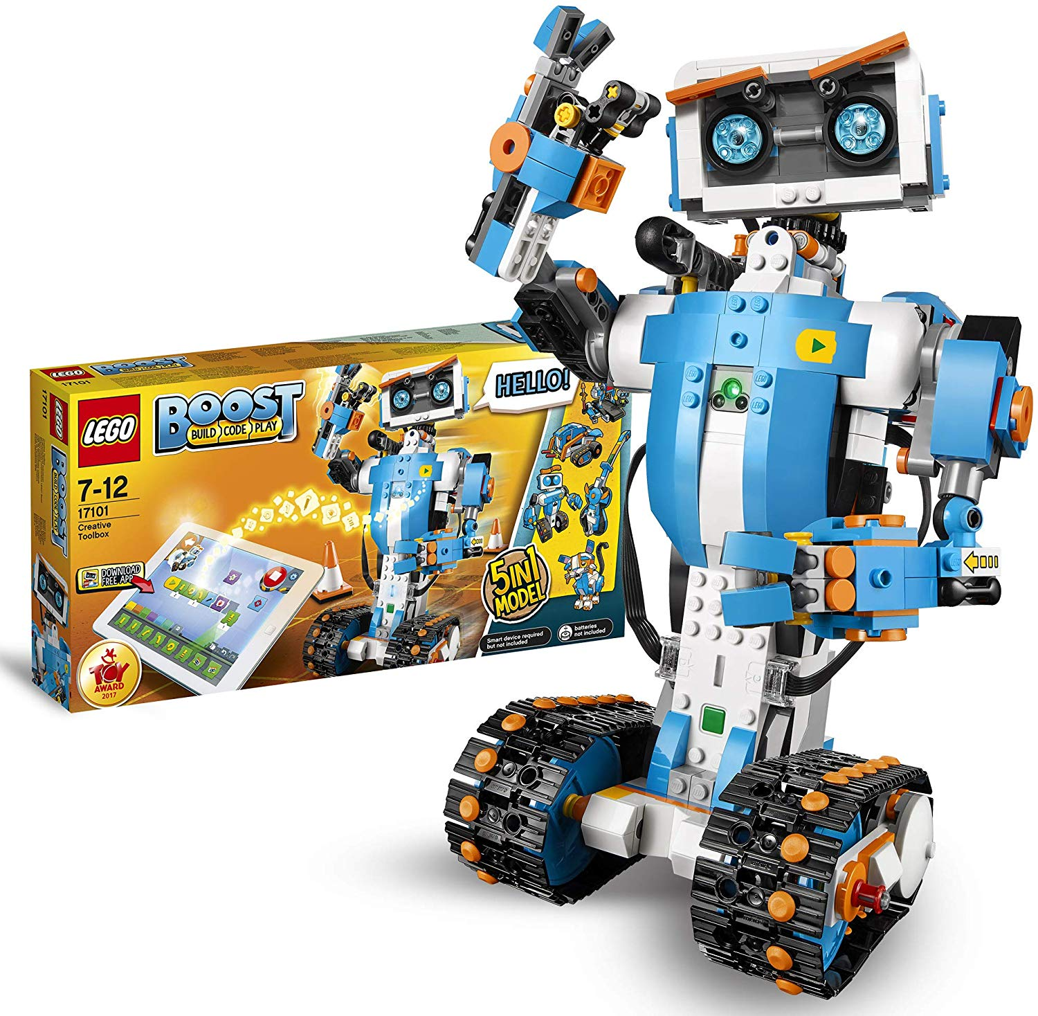 37% off LEGO 17101 Boost Creative Toolbox Robotics Kit, Coding Kits for Kids