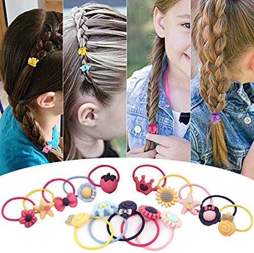Hair Ties for Girls,Little Girls' Small Hair Ropes
