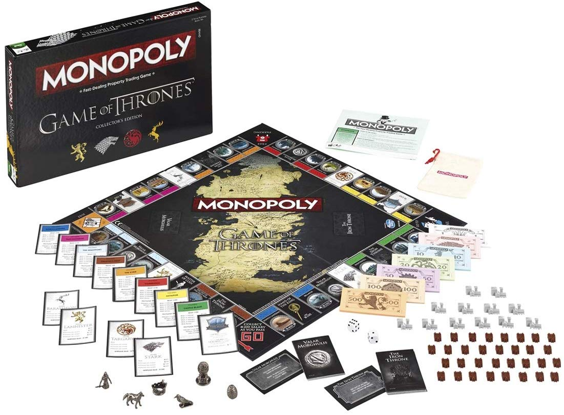 "19% off Game of Thrones ""Game of Thrones"" Monopoly Board Game"