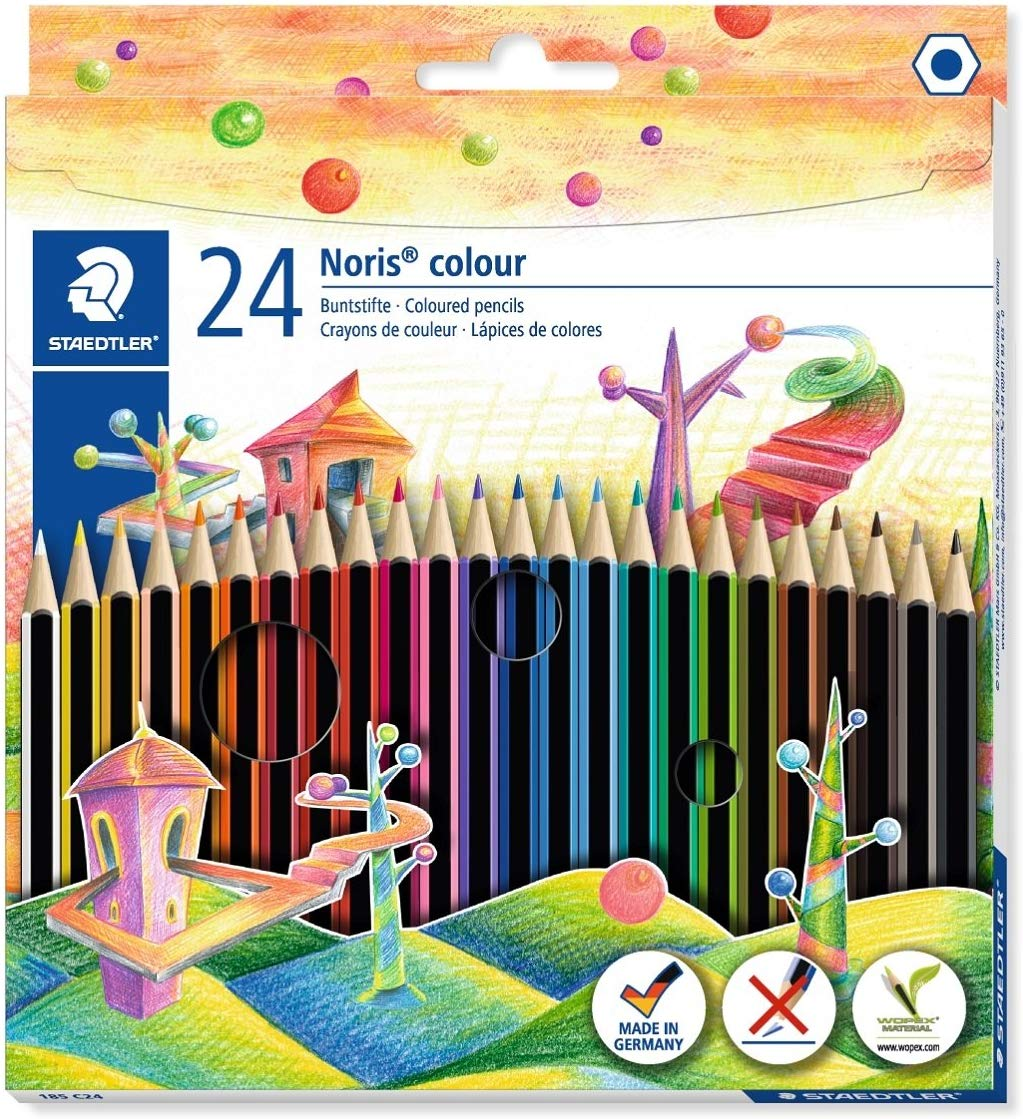 Staedtler 185 C24 Noris Colour Colouring Pencil Only £3.29  for Prime