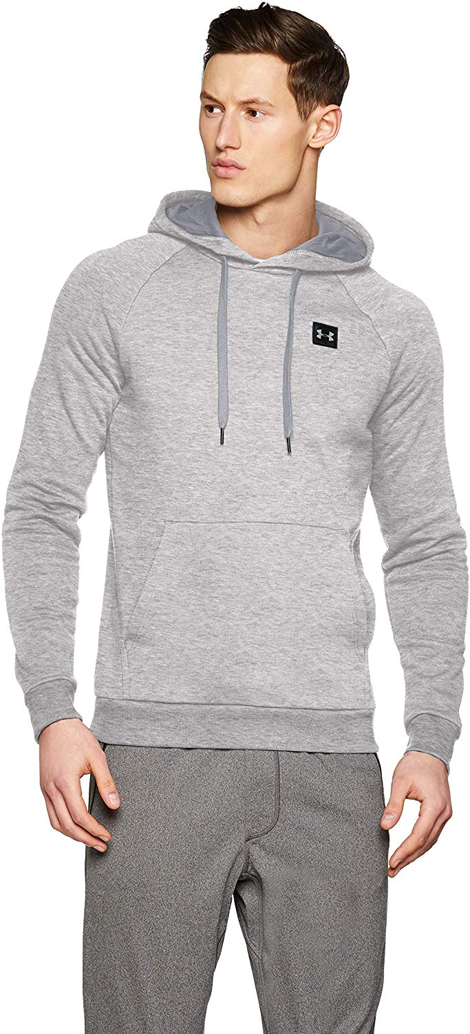 Under Armour Men's Rival Fleece Men's Pullover Up to 63% off
