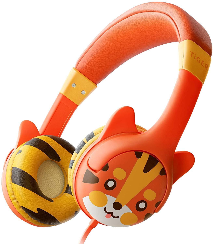 23% off Kidrox Tiger-Ear Kids Headphones,85dB Volume Limited