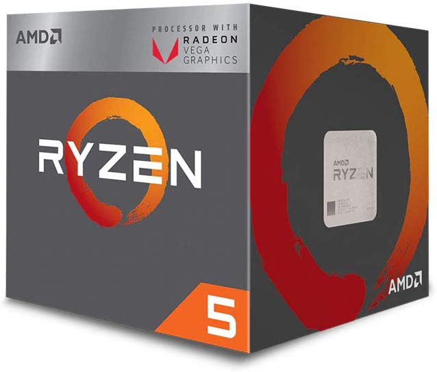 Save £30.12 on AMD Ryzen 5 3400G Processor (4C/8T, 6MB cache, 4.2GHz Max Boost) with Radeon RX Vega 11 Graphics