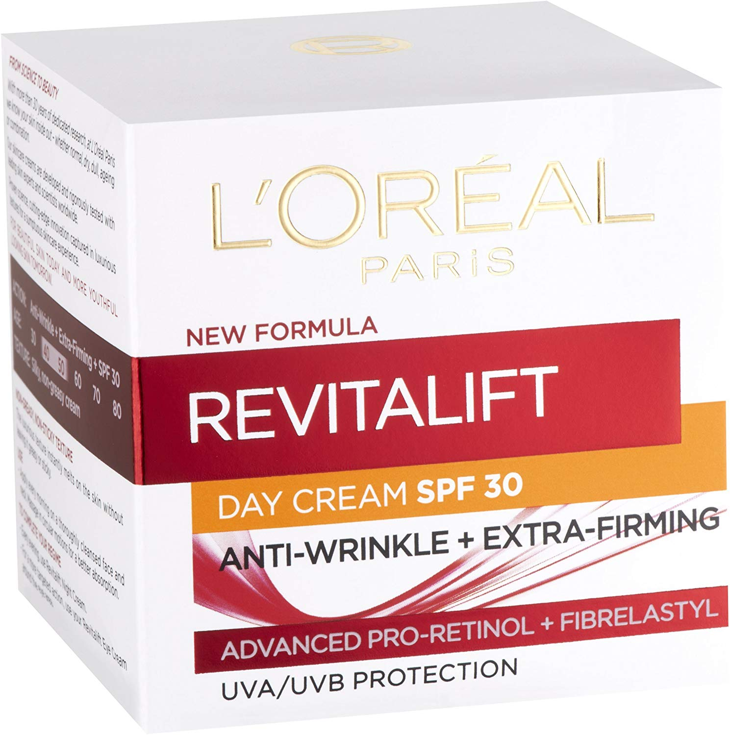 L'Oreal Paris Revitalift Pro Retinol Day Cream SPF 30 Now Only for £4.08 Prime Only