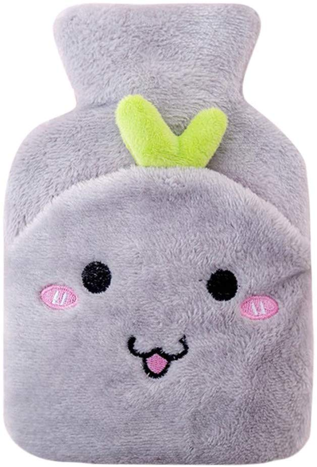 70% off Hot Water Bottle with Cute Cartoon Plush Cover