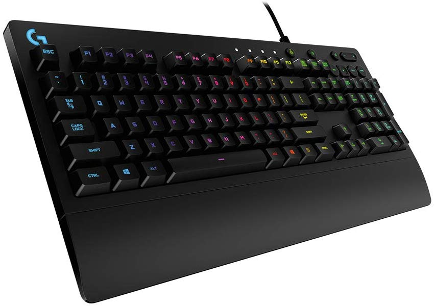 Save £36 on Logitech G213 Prodigy Gaming Keyboard, RGB Backlit, Qwerty UK Layout