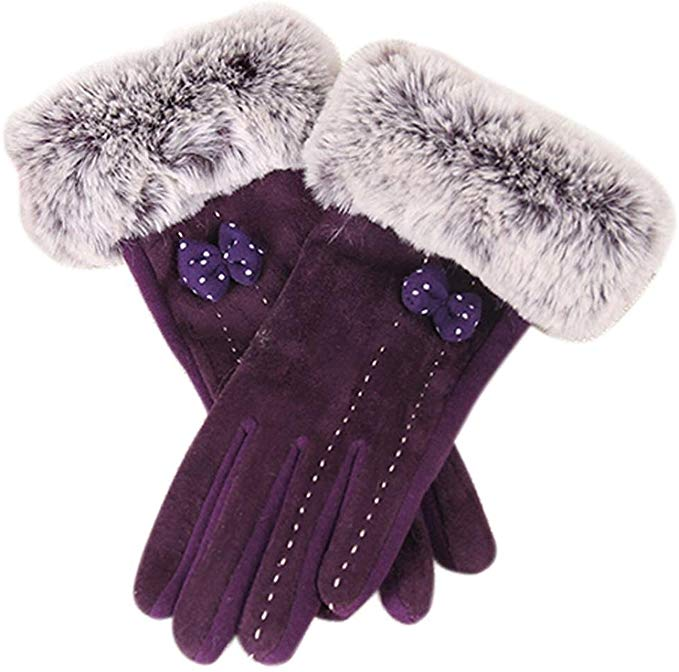 1Pair Winter Warm Screen Riding Drove Gloves £3.55 + £0.69 delivery on Amazon