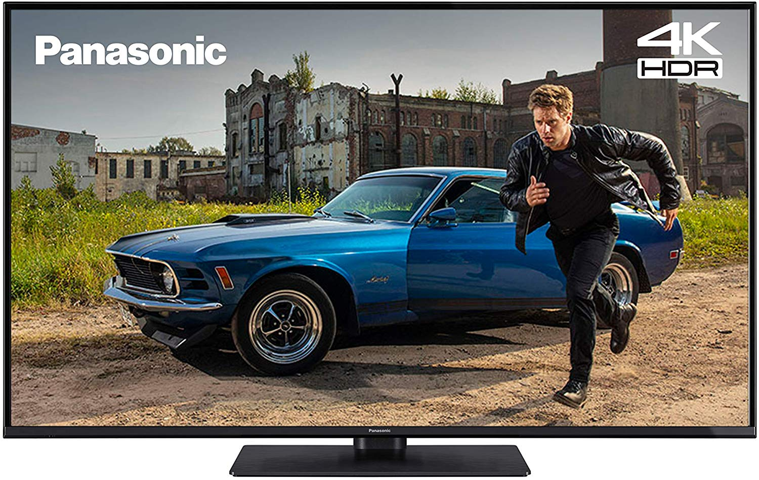 Save £100.99 on Panasonic TX-43GX551 43 inch 4K Ultra HD HDR Smart TV with Freeview Play, Black (2019)
