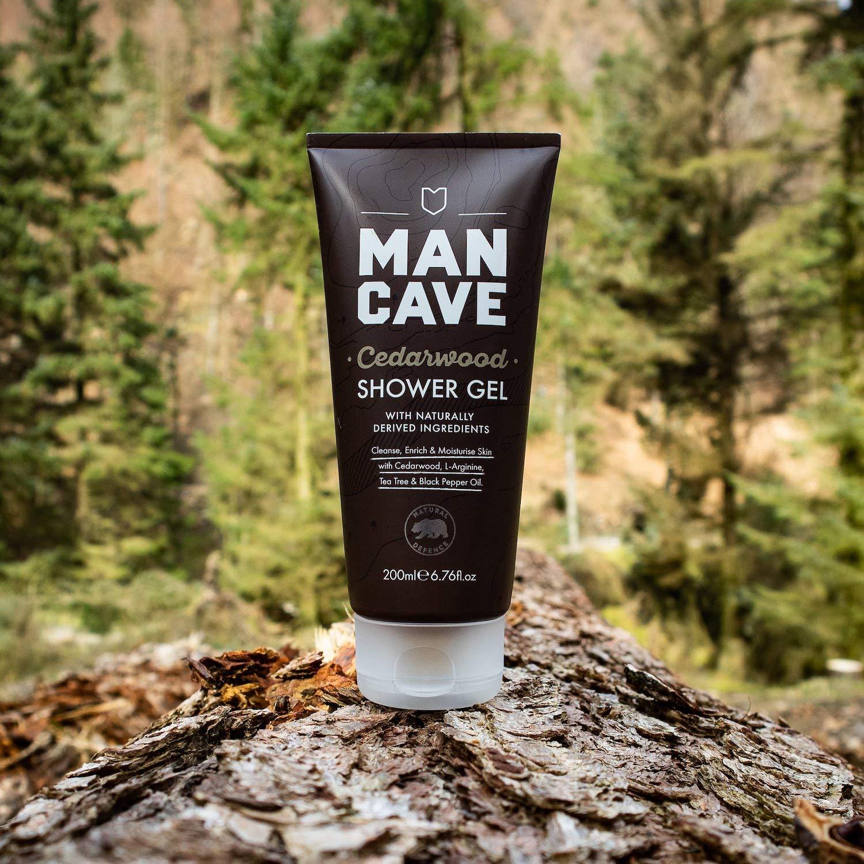 ManCave Cedarwood Shower Gel 200ml for £2 (Minimum order quantity 3)