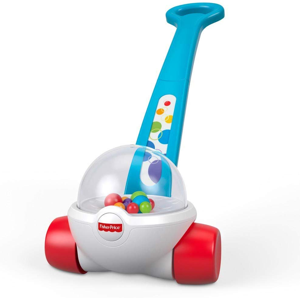 Toddler Push Along Toy with Ball-popping Sounds and Action, Toy for 1 Year Old for £7.5 Prime Non Prime + £4.49