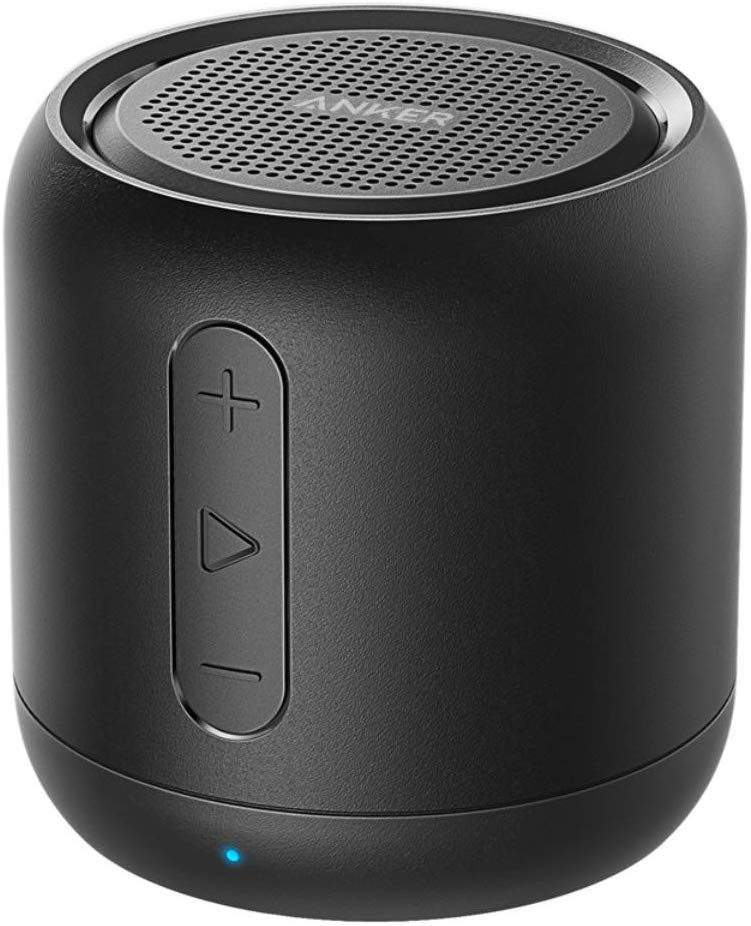 Anker SoundCore mini, Bluetooth Speaker, Super-Portable Bluetooth Speaker with 15-Hour Playtime