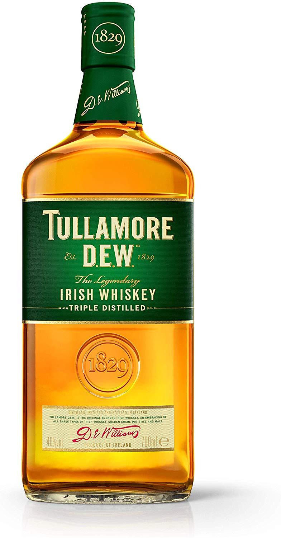 Tullamore D.E.W. Irish Whiskey 70cl for £15