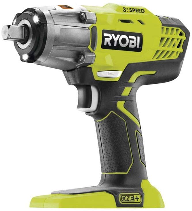 Ryobi R18IW3-0 18V ONE+ Cordless 3-Speed Impact Wrench (Body Only) £69.16 Delivered on Amazon
