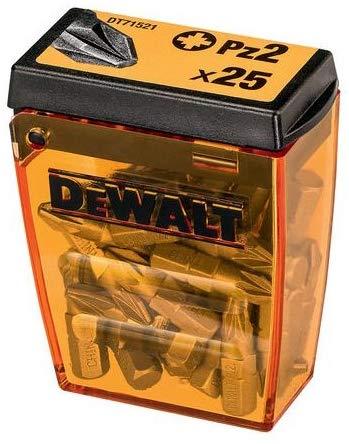 Dewalt Impact Screwdriver Bit Set 25 x PZ2 25 Piece (add on)