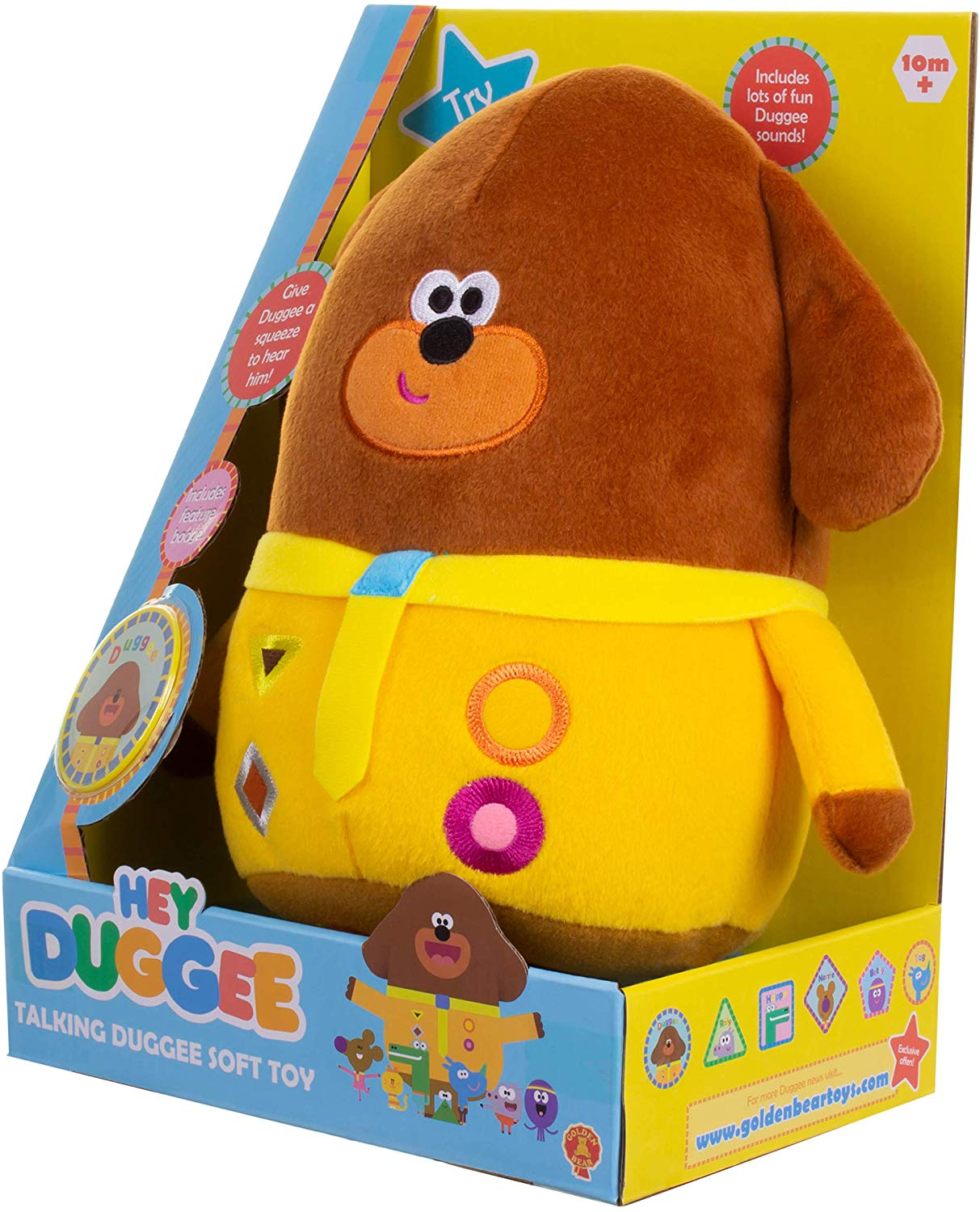 Hey Duggee Talking Soft Toy £10.9 Prime +£4.49 Non Prime