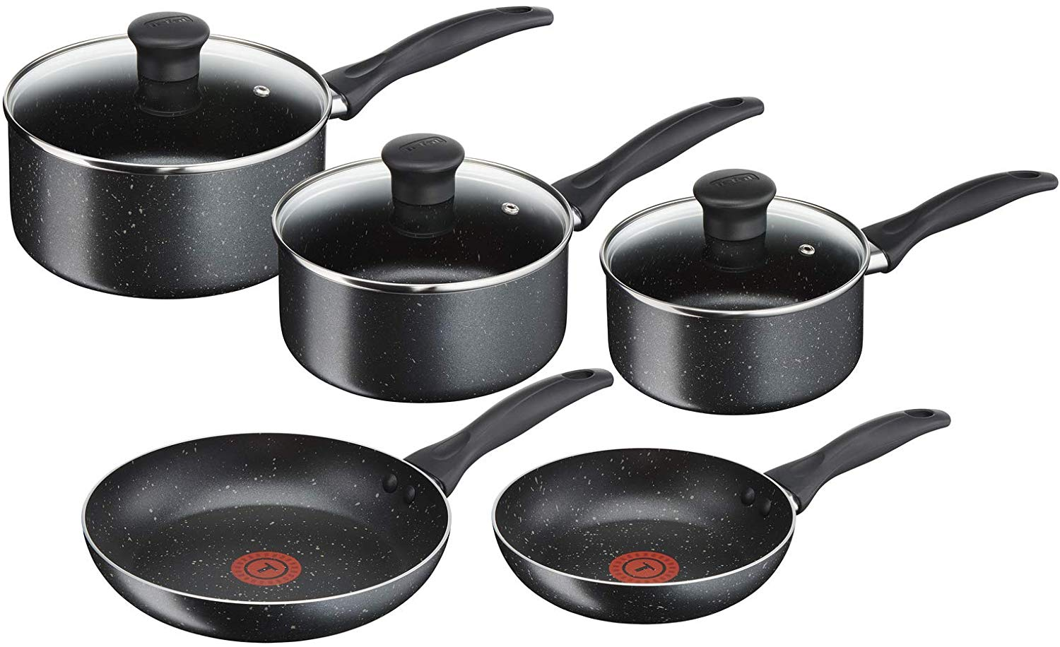 Tefal Origins 5 Piece Stone Pots and Pans set £39.99 Delivered On Amazon