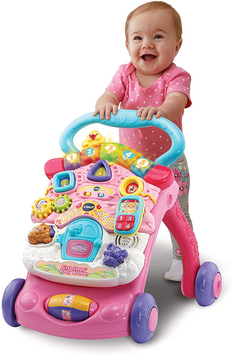 Vtech First Steps Baby Walker, Pink is Up to 52% off