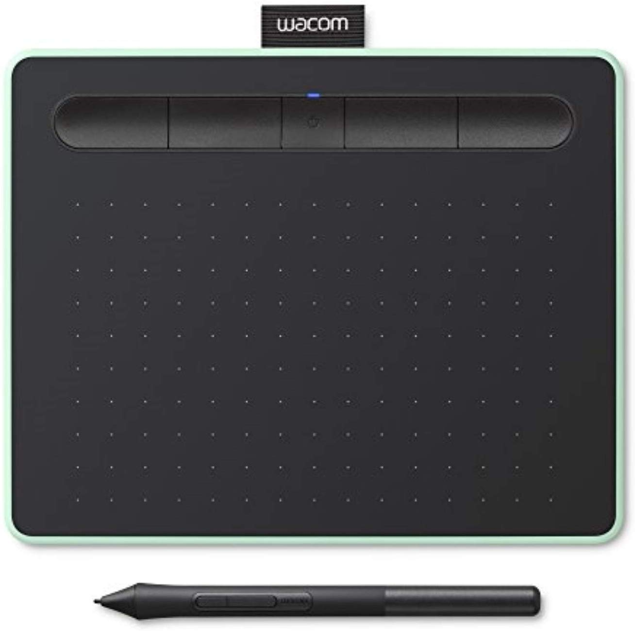 Wacom Intuos S Pistachio, Bluetooth Pen Tablet – Wireless Graphic Tablet for Painting, Sketching and Photo Retouching