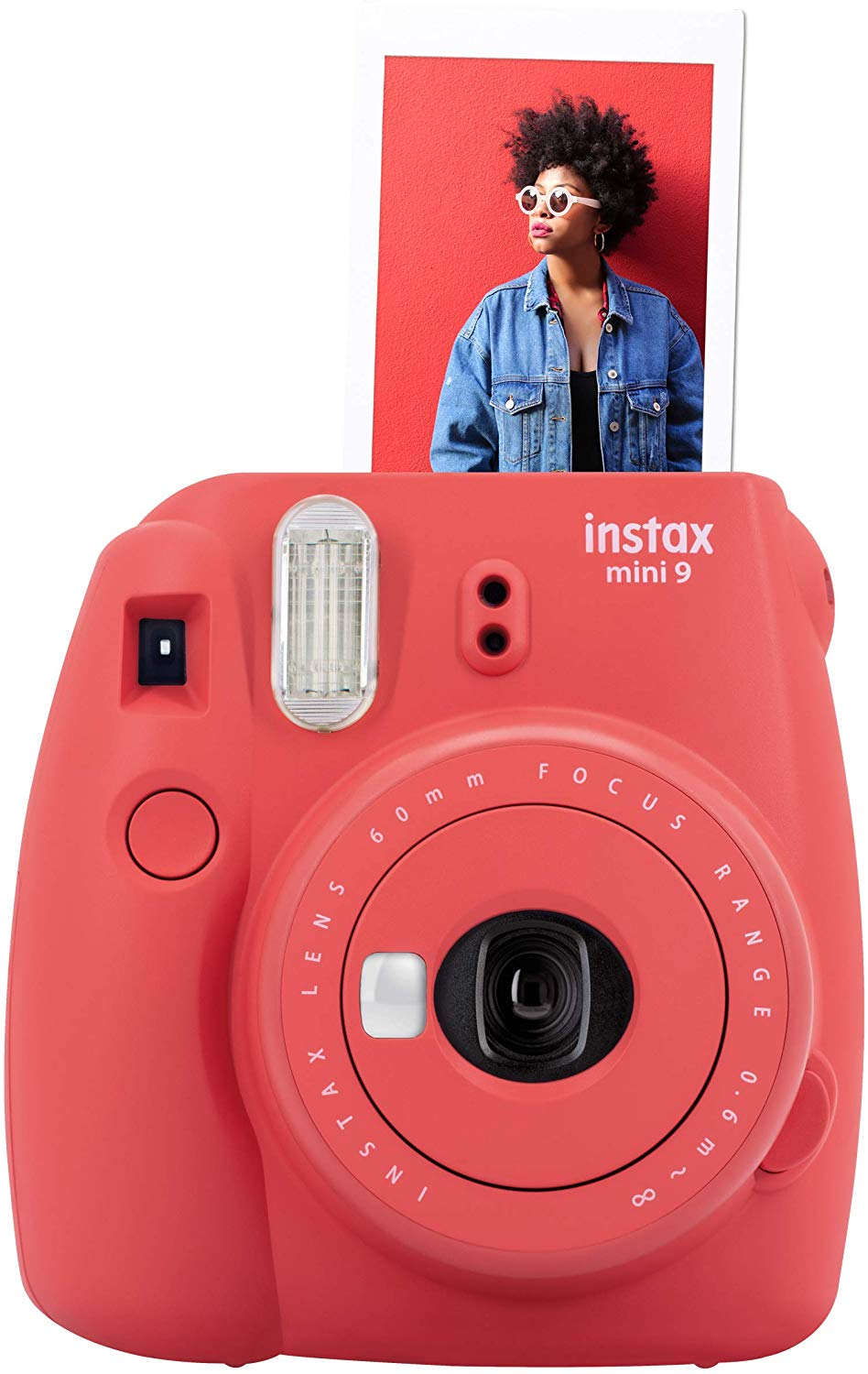 instax 16607123 Mini 9 Camera – Poppy Red for £54.99