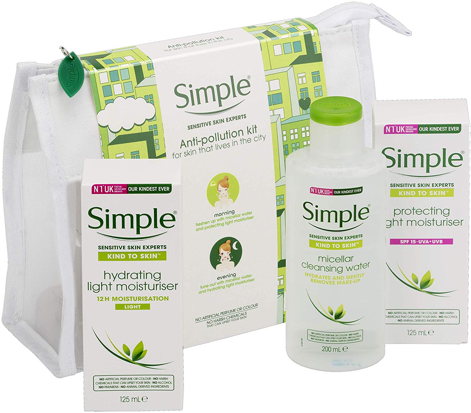 Half Price Simple Anti Pollution Regime Gift Set exclusive to Amazon