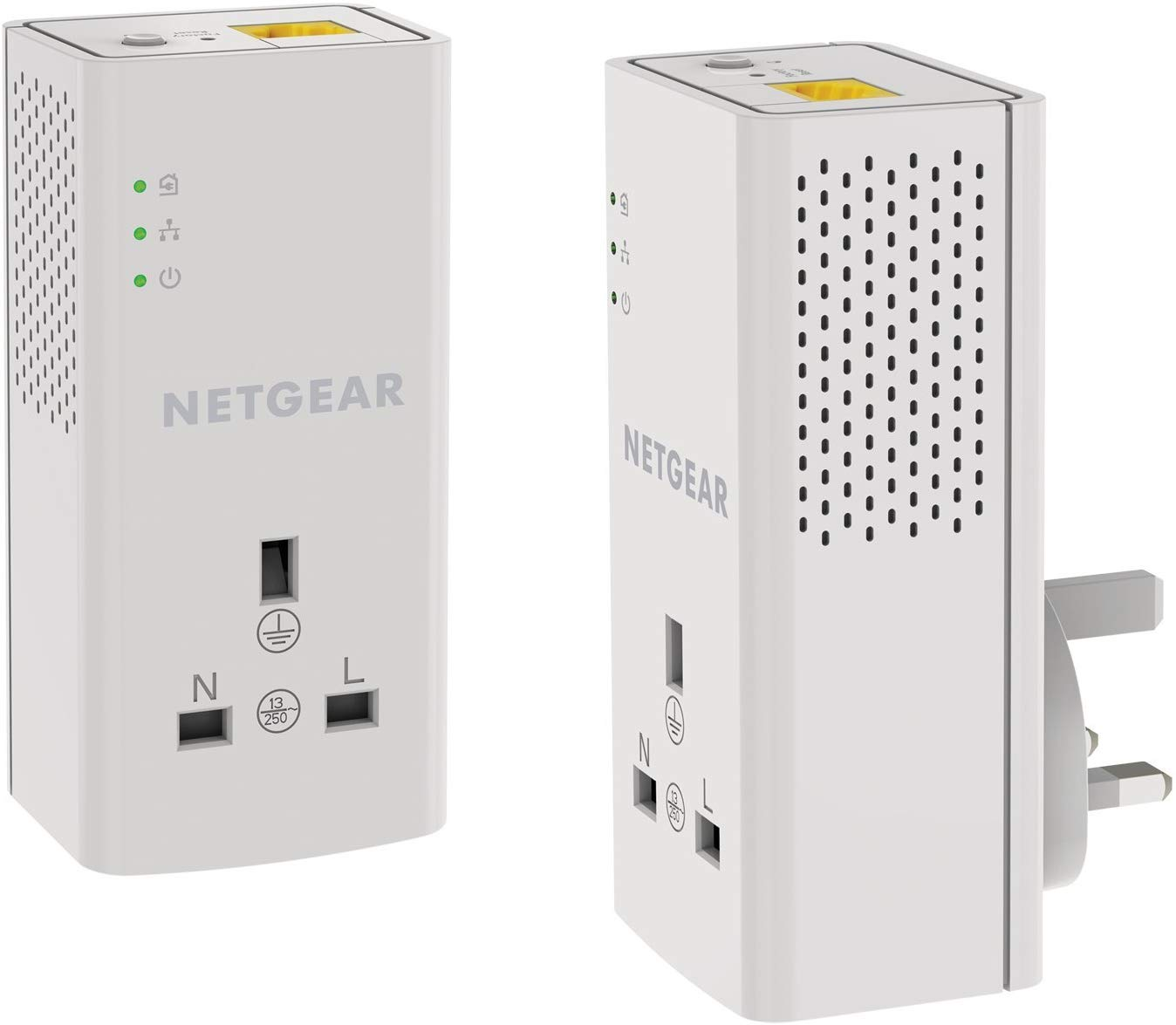30% off NETGEAR PLP1000-100UKS 1 Port,1000 Mbps with Extra outlet – Pack of 2