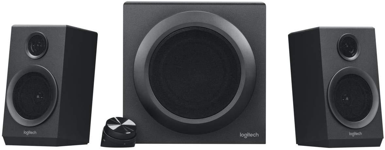 40% off Logitech Z333 Speaker System, Multimedia Speakers with Premium Subwoofer