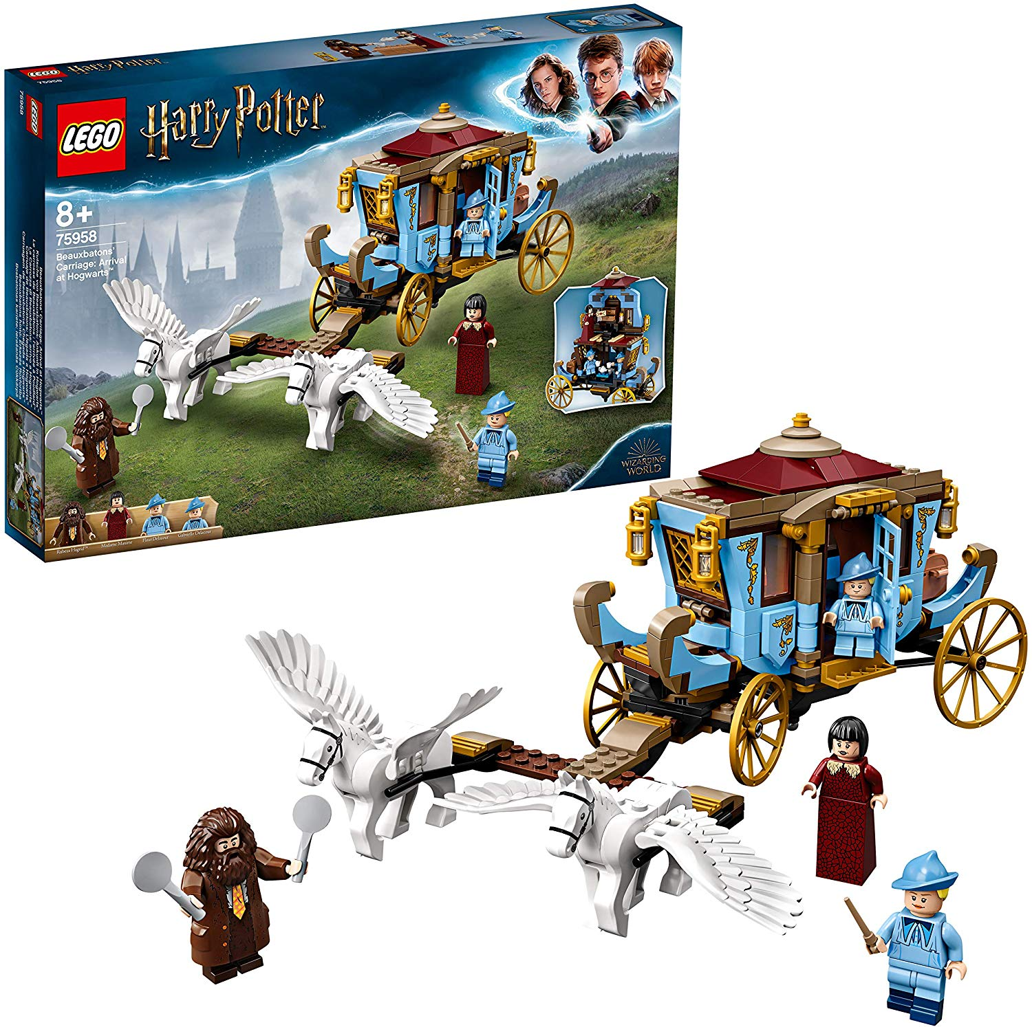 Save £9 on LEGO 75958 Harry Potter Beauxbatons' Carriage