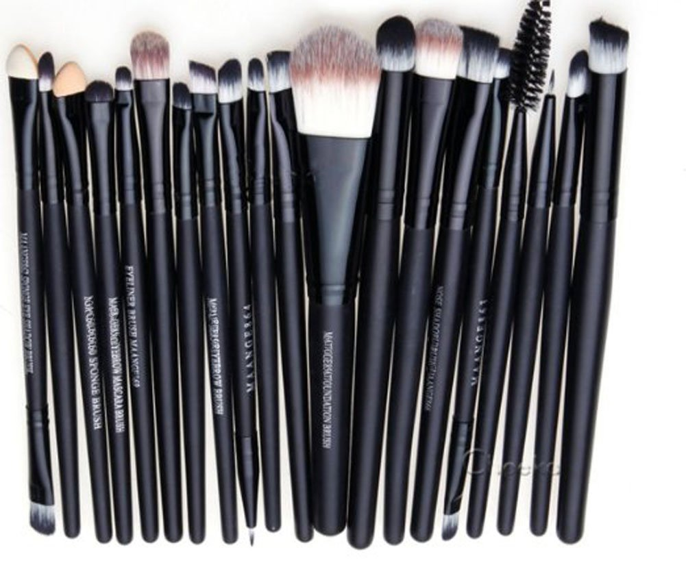 20pcs Brushes Set Powder Foundation Eye shadow Eyeliner Lip Brush Tool
