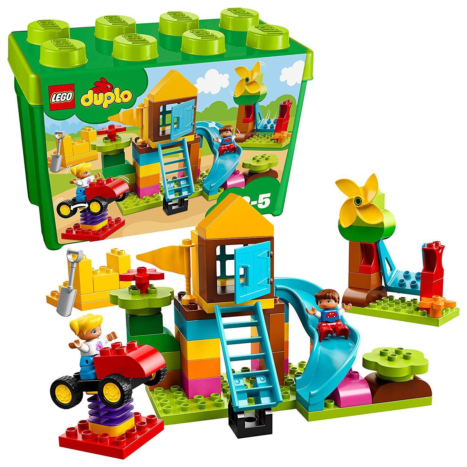 Half Price LEGO 10864 DUPLO My First Large Playground Brick Box